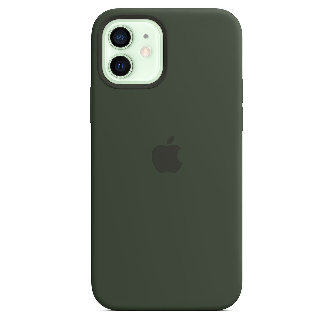 - iPhone 12 | 12 Pro Silicone Case with MagSafe / Verde Chipre 2