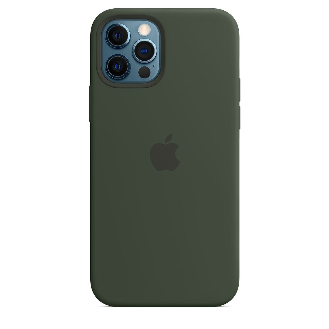 - iPhone 12 | 12 Pro Silicone Case with MagSafe / Verde Chipre 5