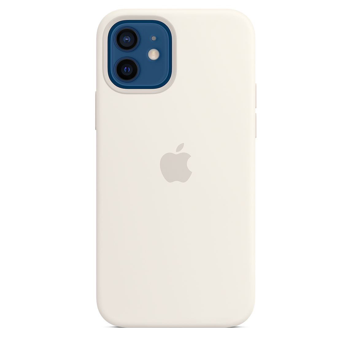 - iPhone 12 | 12 Pro Silicone Case with MagSafe / Blanco 1