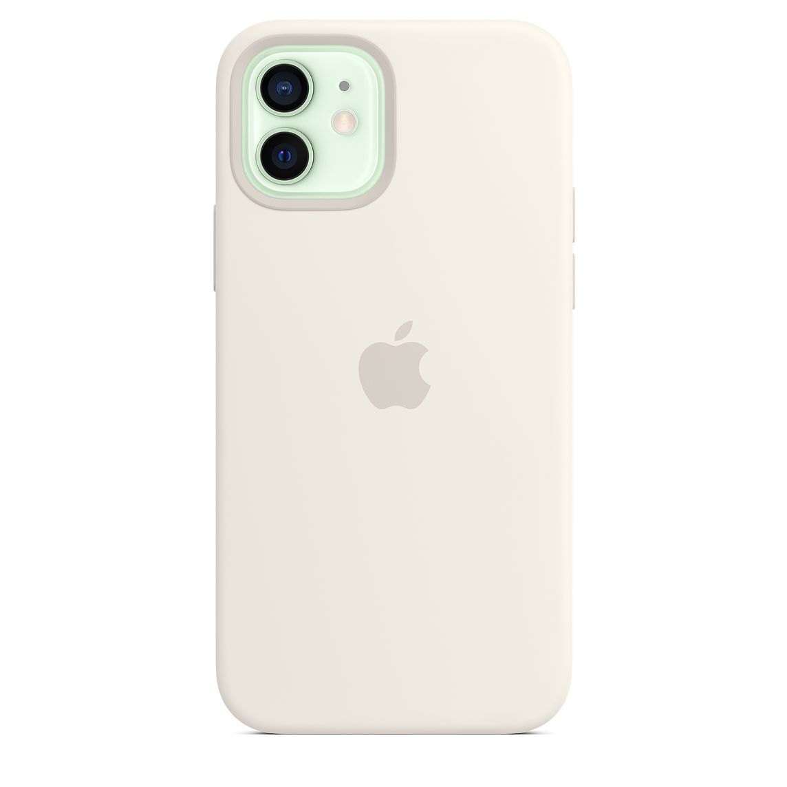 - iPhone 12 | 12 Pro Silicone Case with MagSafe / Blanco 2