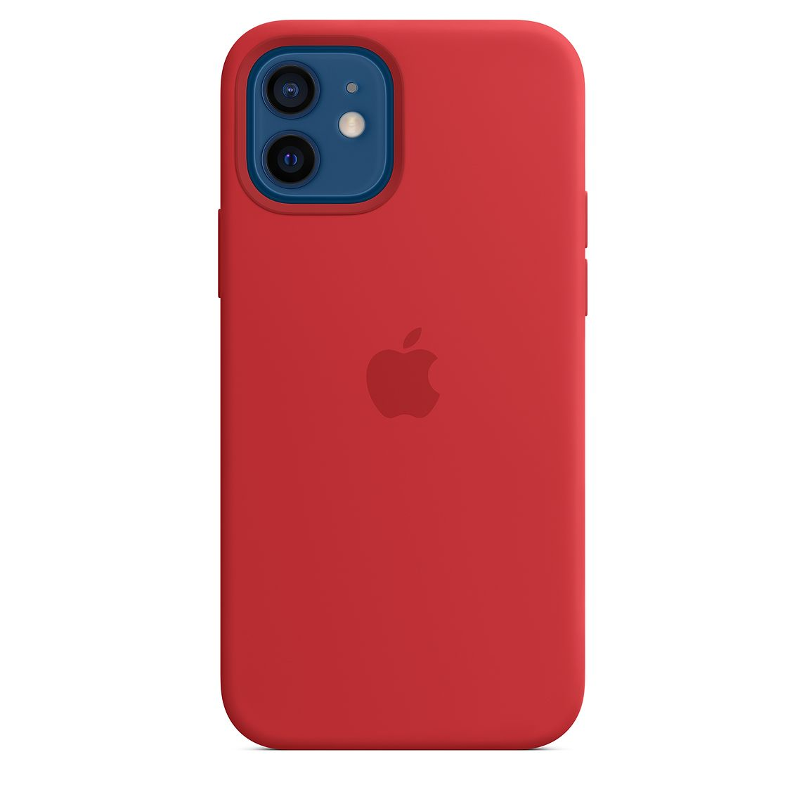 - iPhone 12   12 Pro Silicone Case with MagSafe / Rojo 1
