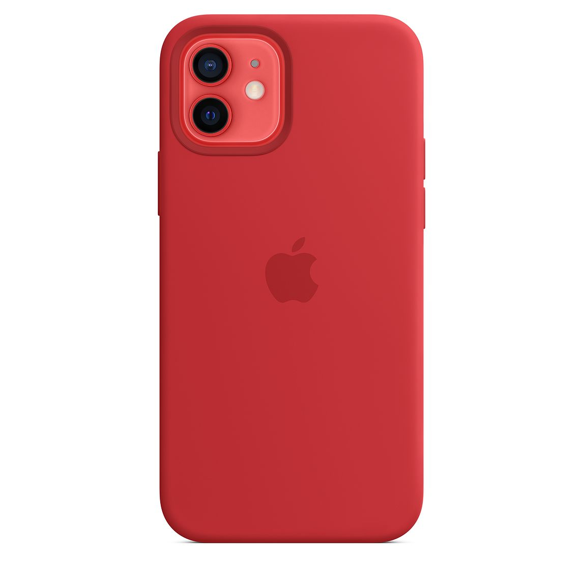 - iPhone 12   12 Pro Silicone Case with MagSafe / Rojo 3
