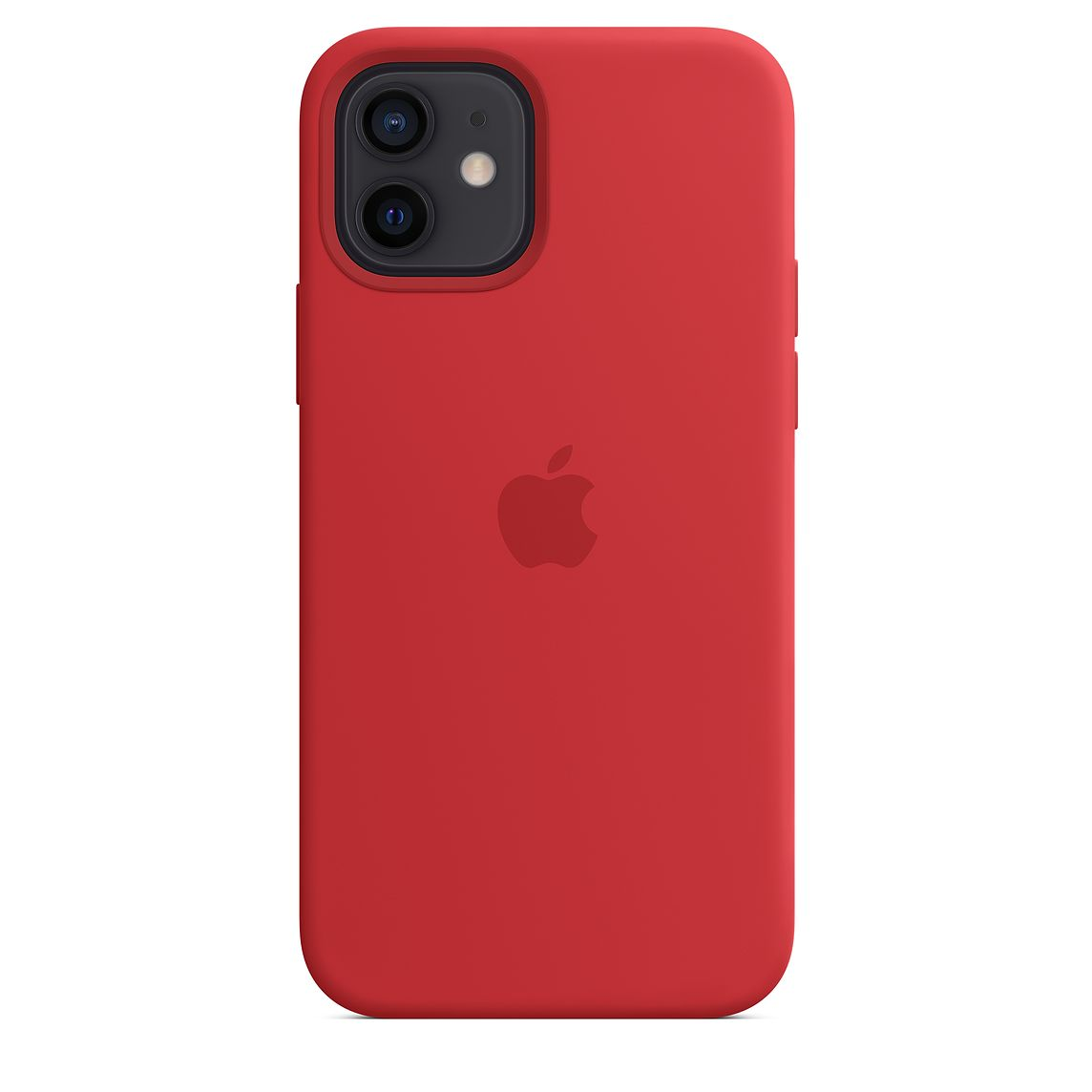 - iPhone 12   12 Pro Silicone Case with MagSafe / Rojo 4