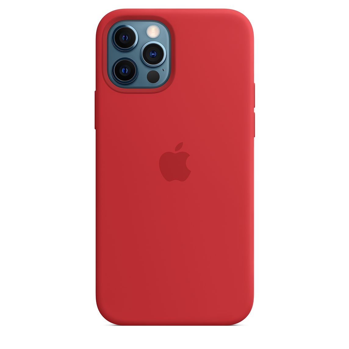 - iPhone 12   12 Pro Silicone Case with MagSafe / Rojo 5