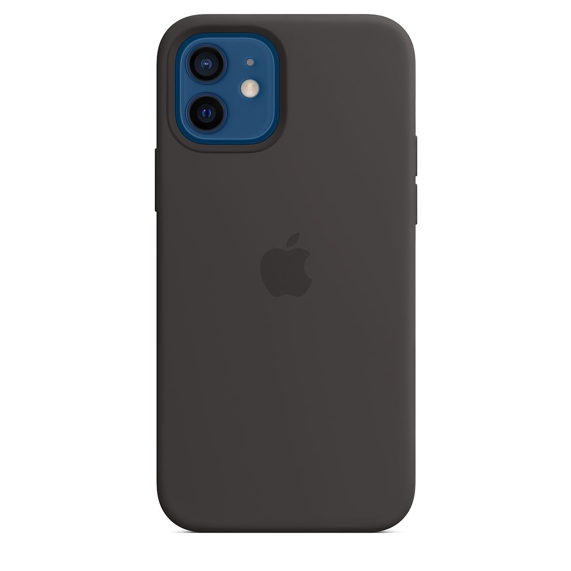 - iPhone 12   12 Pro Silicone Case with MagSafe / Negro 1