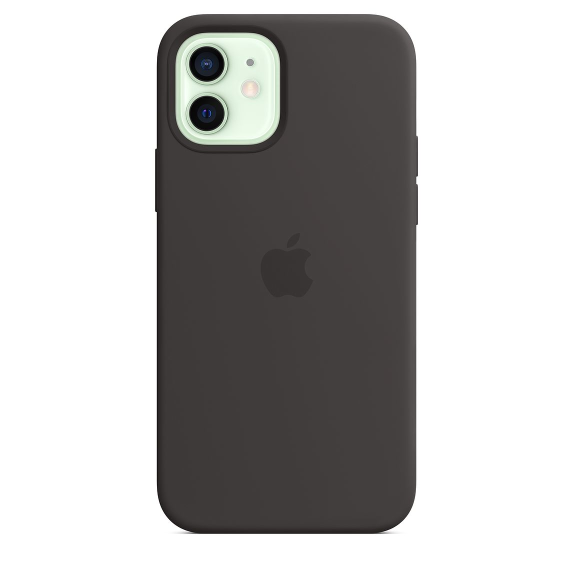 - iPhone 12   12 Pro Silicone Case with MagSafe / Negro 2