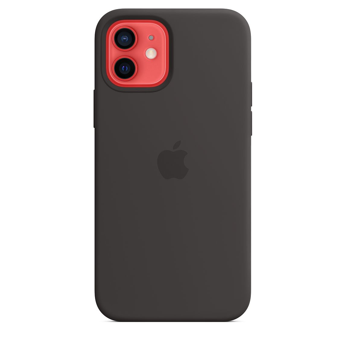 - iPhone 12   12 Pro Silicone Case with MagSafe / Negro 3