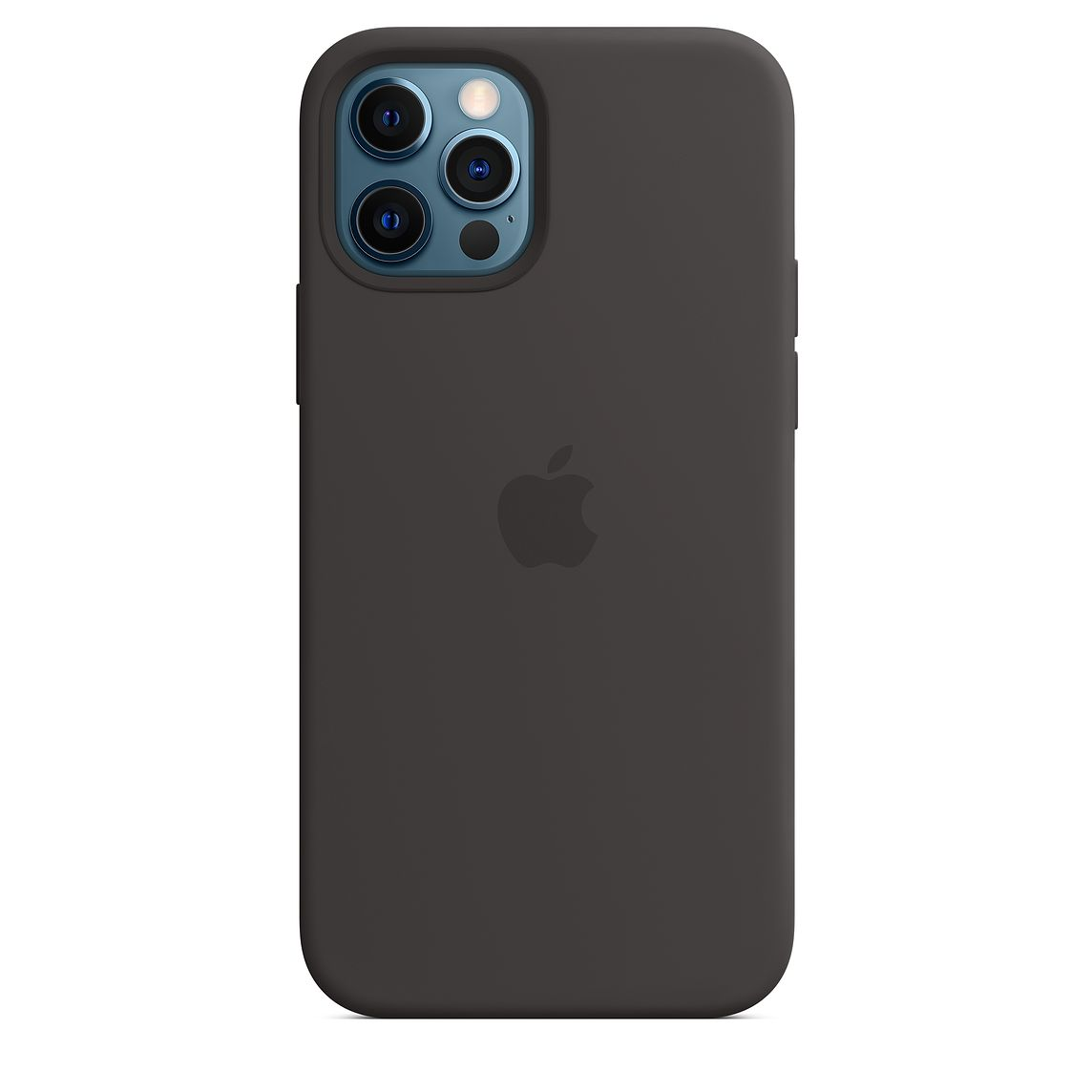 - iPhone 12   12 Pro Silicone Case with MagSafe / Negro 5