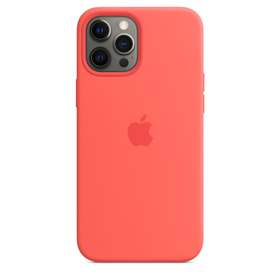 - iPhone 12 Pro Max Silicone Case with MagSafe / Rosa Cítrico 2
