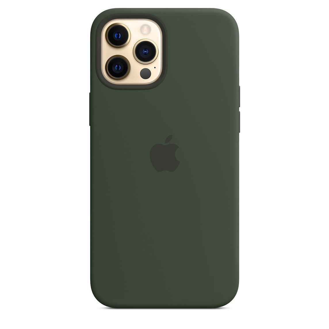 - iPhone 12 Pro Max Silicone Case with MagSafe / Verde Chipre 1