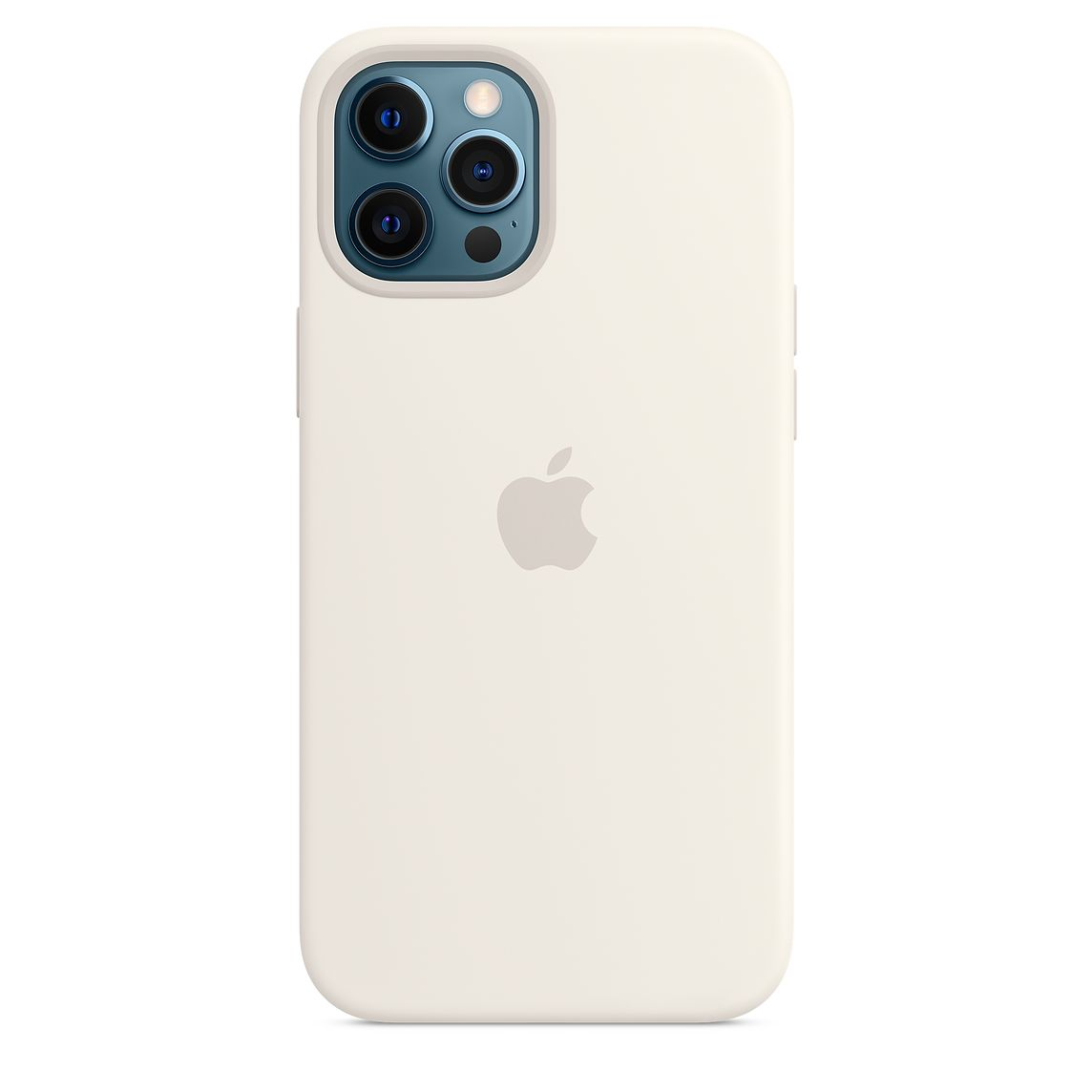 - iPhone 12 Pro Max Silicone Case with MagSafe / Blanco 4