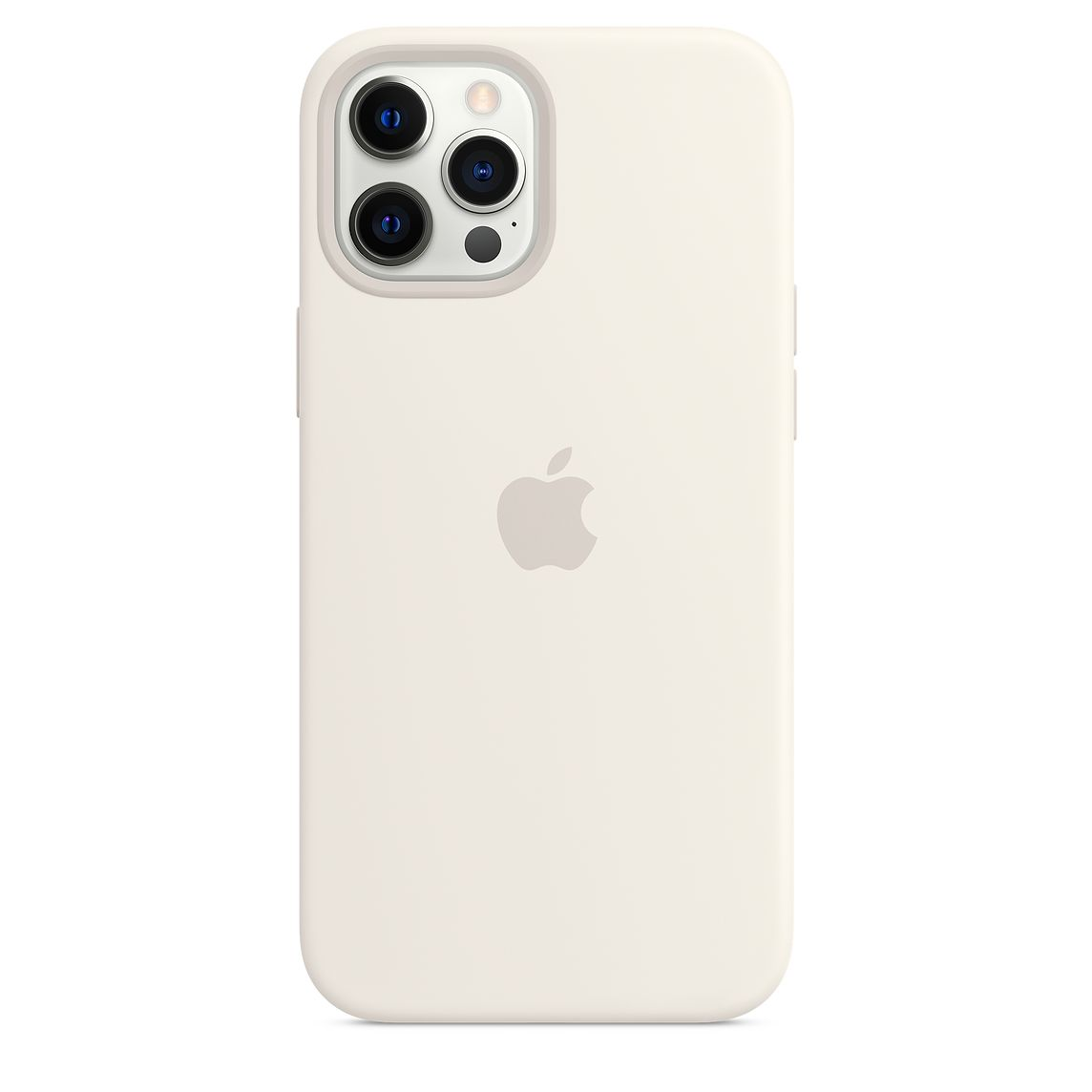 - iPhone 12 Pro Max Silicone Case with MagSafe / Blanco 3