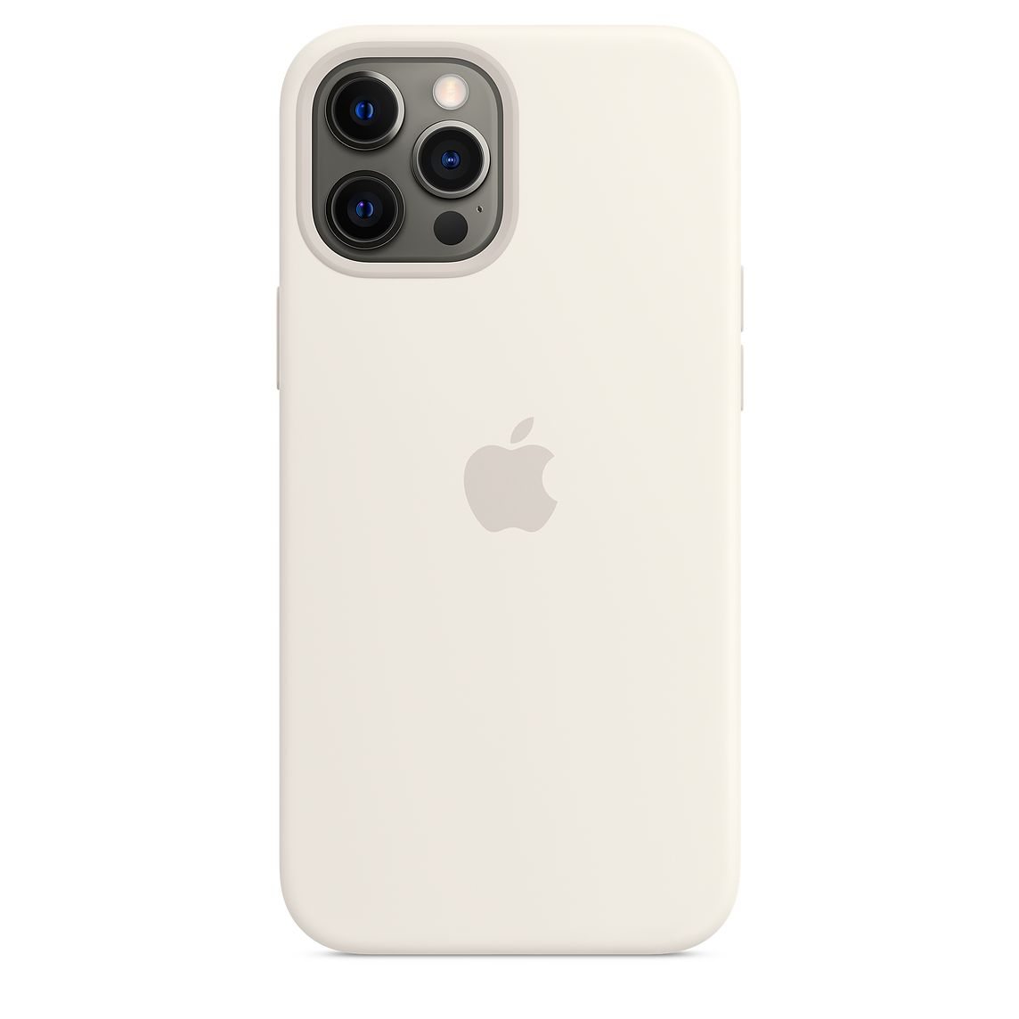 - iPhone 12 Pro Max Silicone Case with MagSafe / Blanco 2