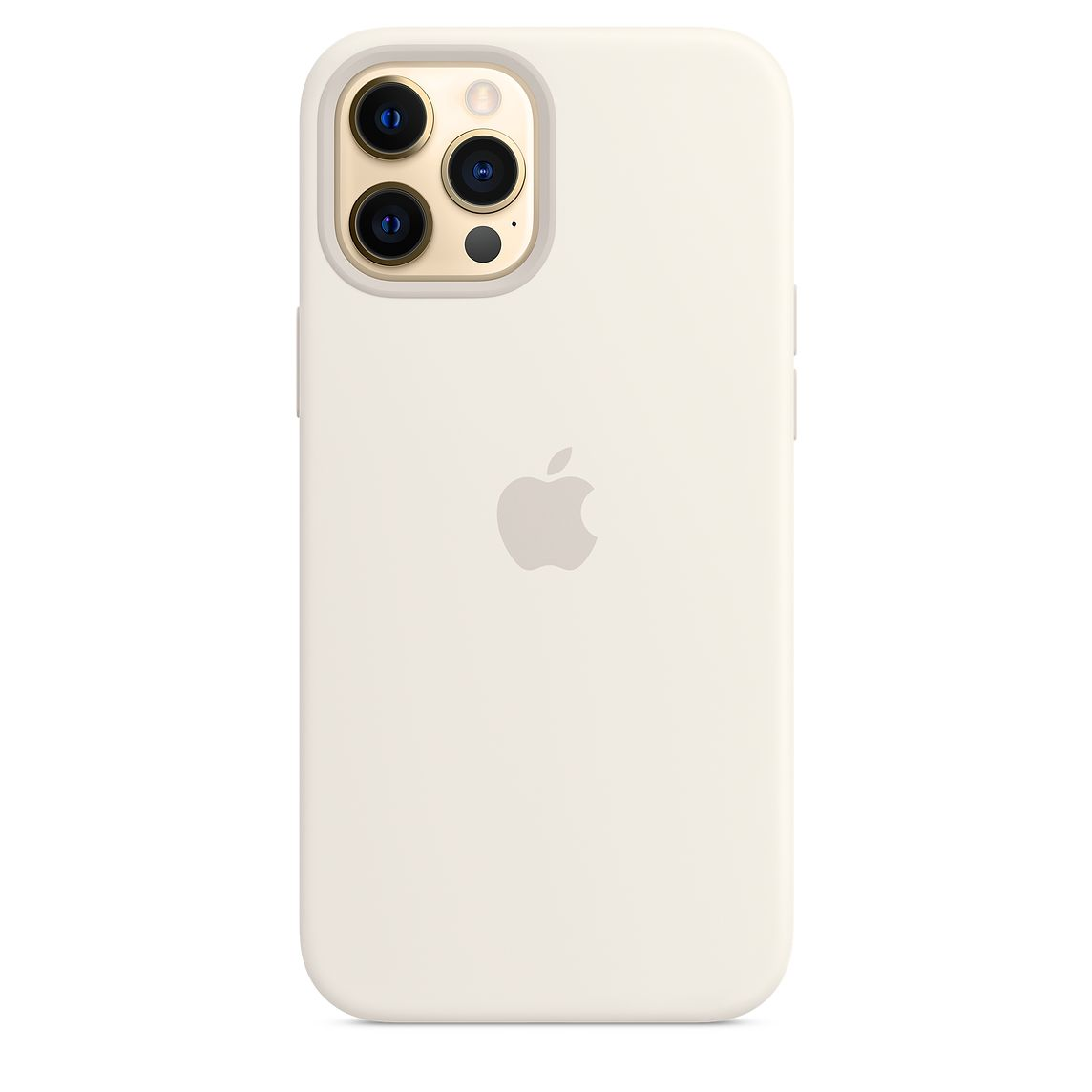 - iPhone 12 Pro Max Silicone Case with MagSafe / Blanco 1