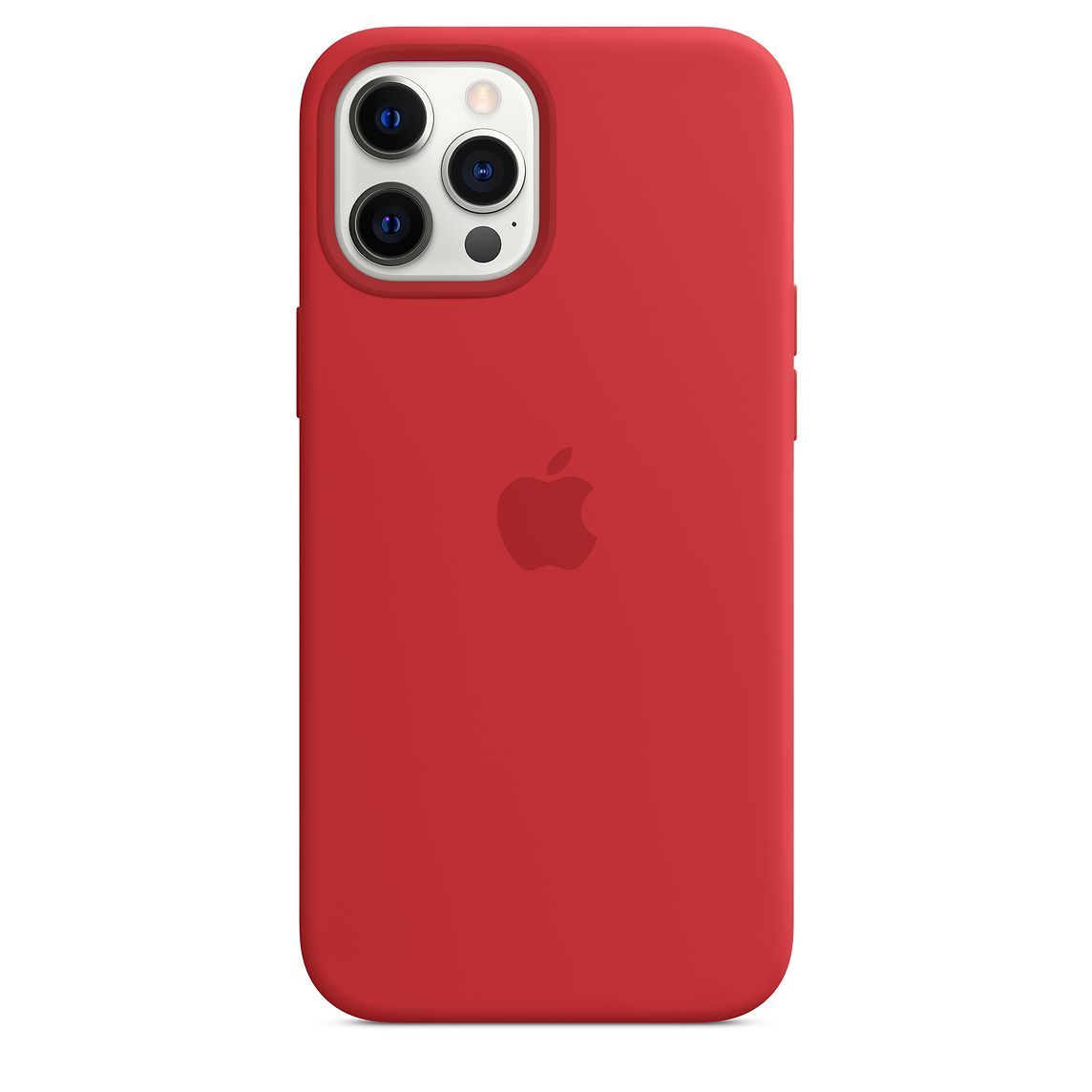 - iPhone 12 Pro Max Silicone Case with MagSafe / Rojo 3