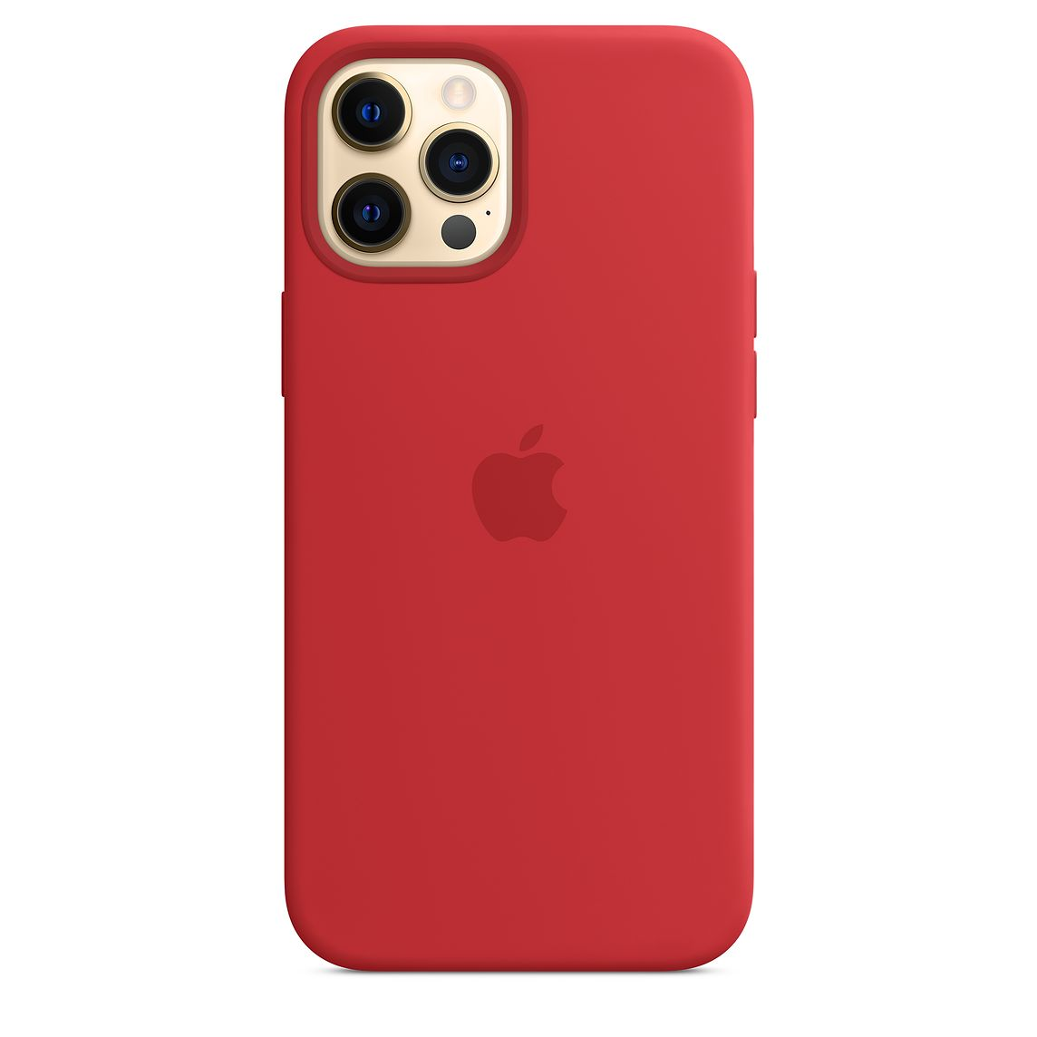 - iPhone 12 Pro Max Silicone Case with MagSafe / Rojo 1