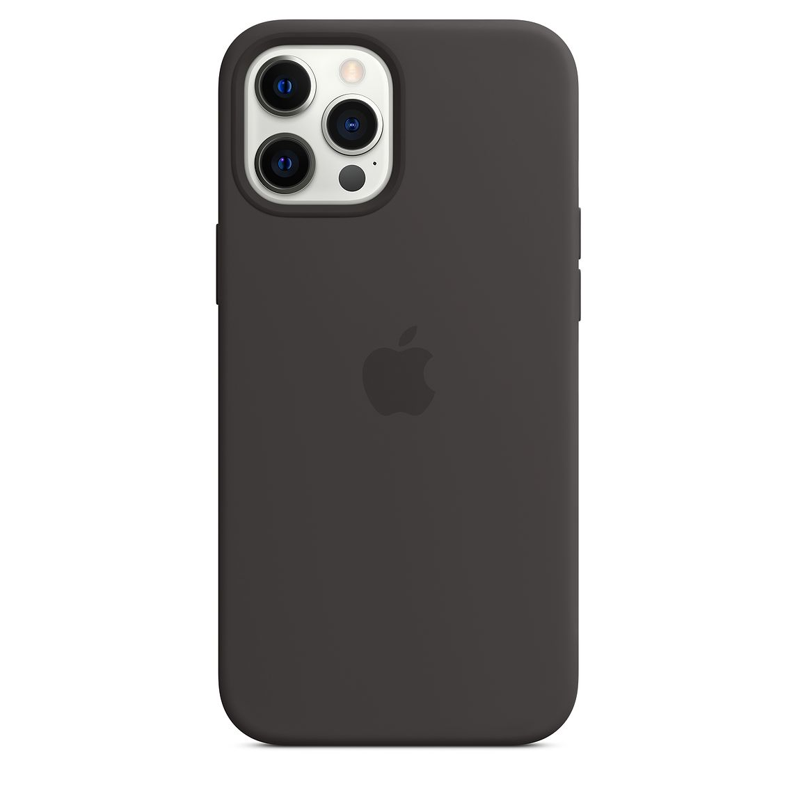 - iPhone 12 Pro Max Silicone Case with MagSafe / Negro 3
