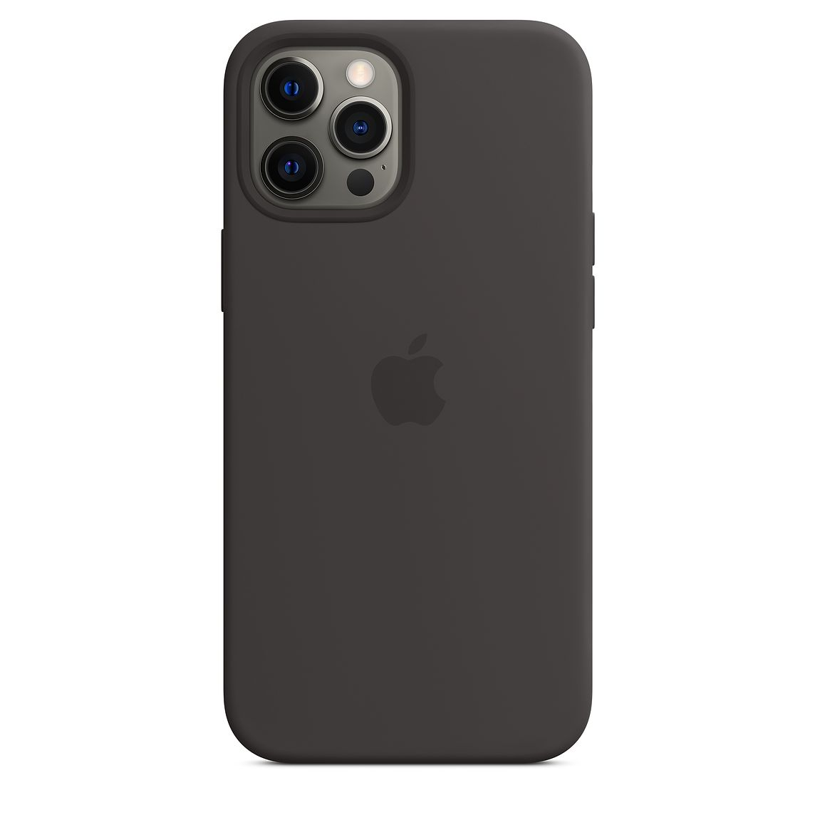 - iPhone 12 Pro Max Silicone Case with MagSafe / Negro 2
