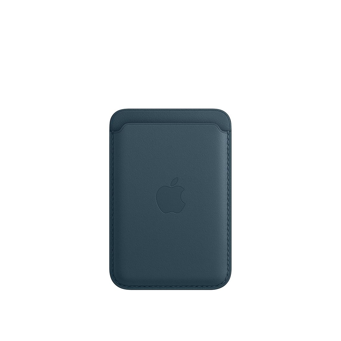 - iPhone Leather Wallet with MagSafe / Azul Baltico 1