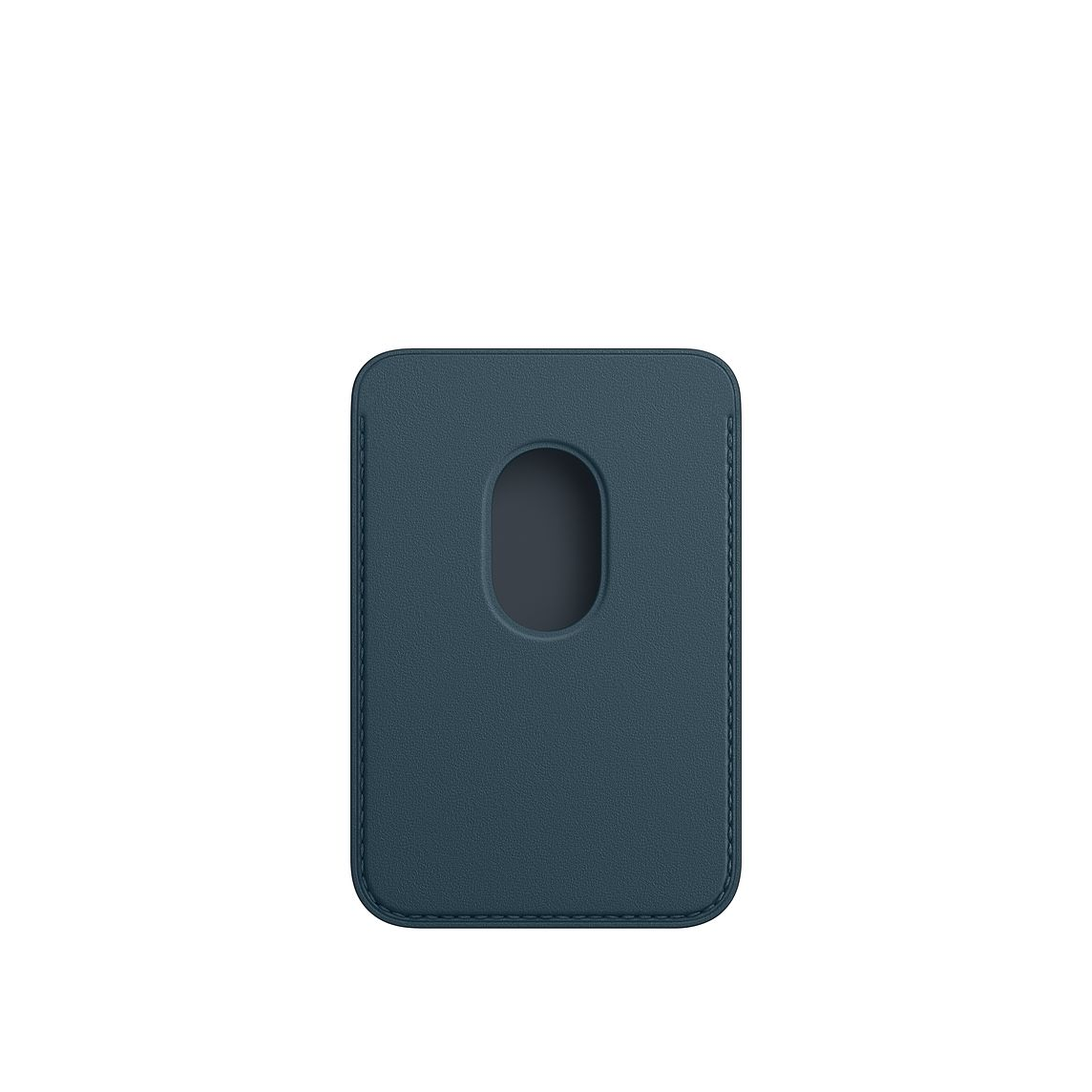 - iPhone Leather Wallet with MagSafe / Azul Baltico 2