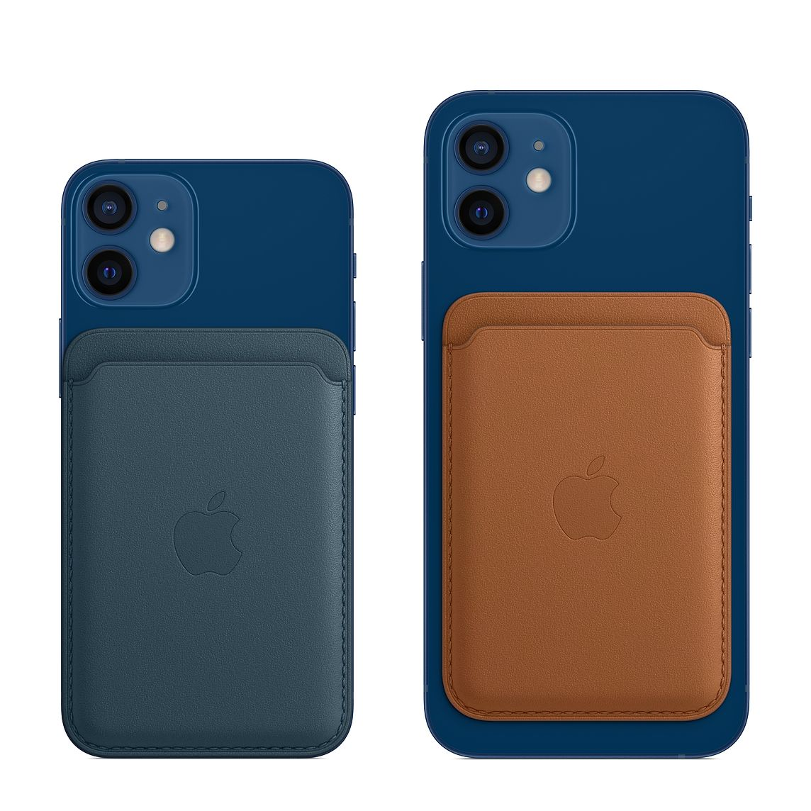 - iPhone Leather Wallet with MagSafe / Azul Baltico 3