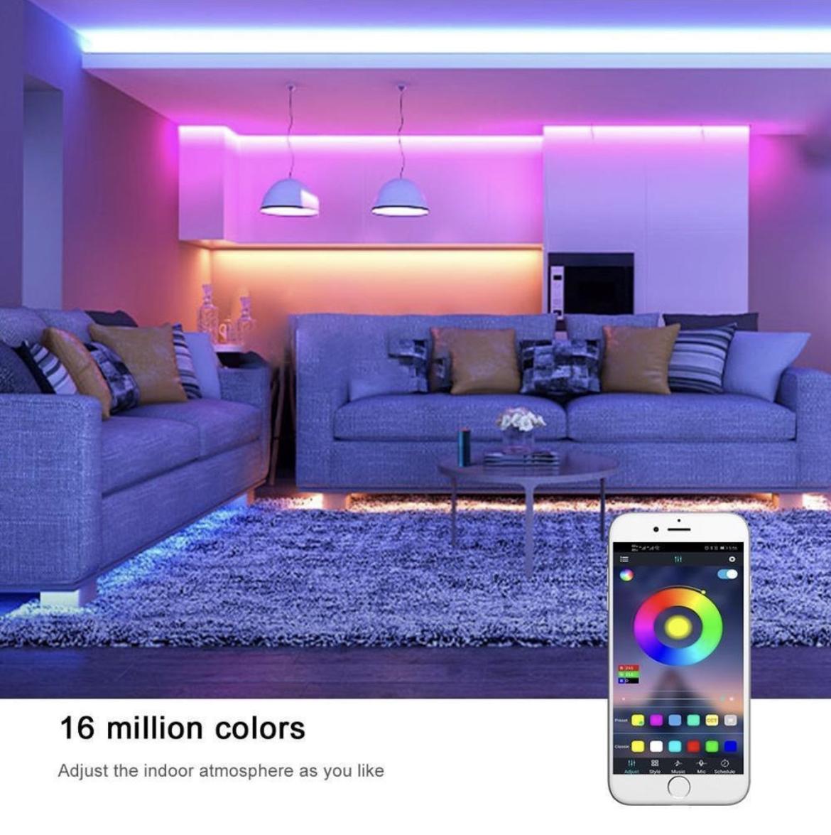 - Tira LED luminoso Colorlight 2.0 mt LifeSmart 7