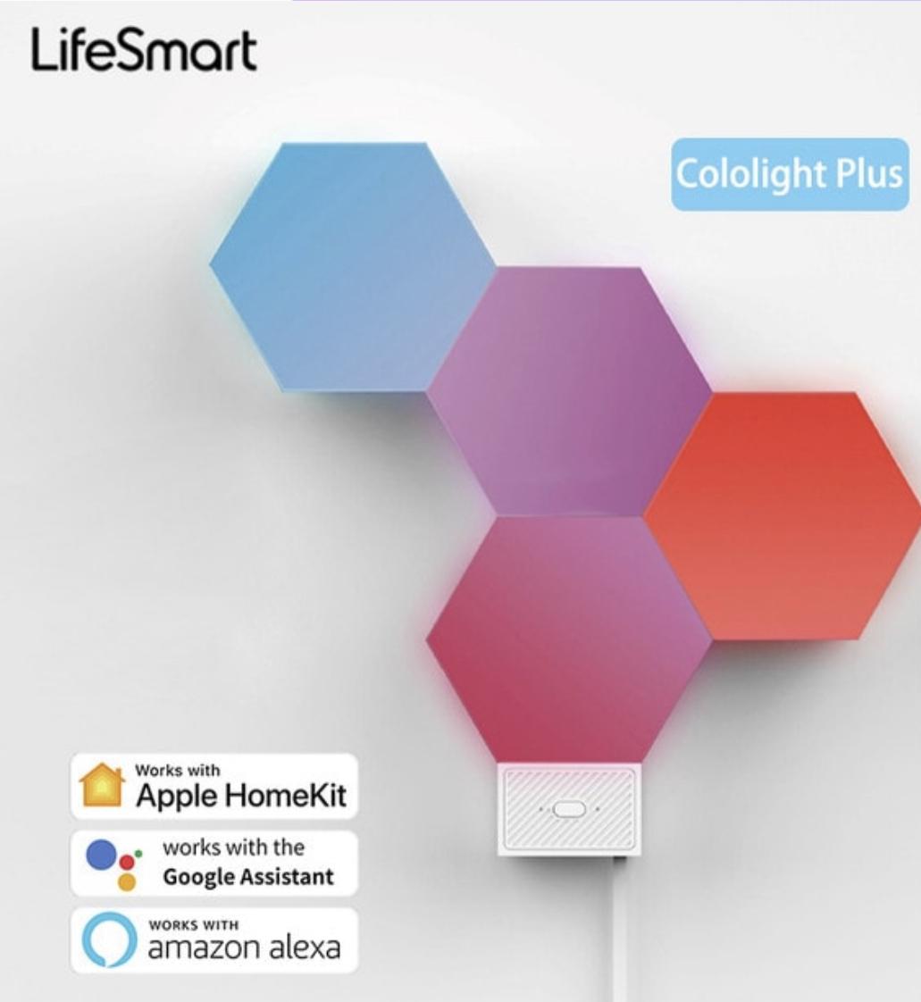 - Paneles LED Cololight KIT LifeSmart 1