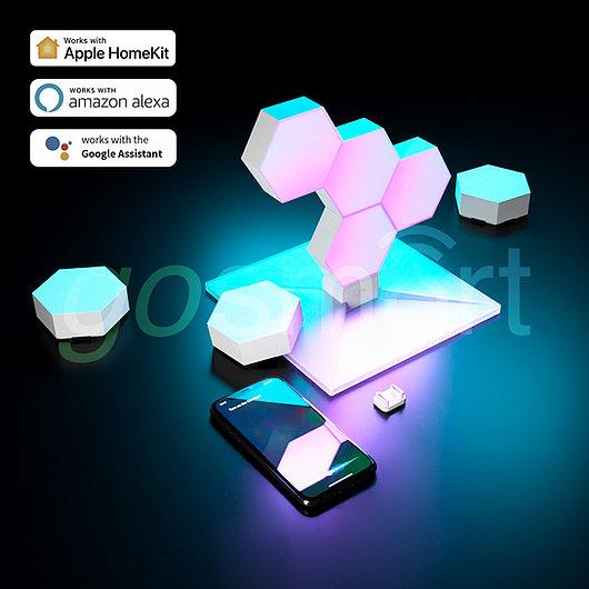 - Paneles LED Cololight KIT LifeSmart 6