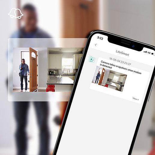 - Sensor de puerta y ventana LifeSmart 6