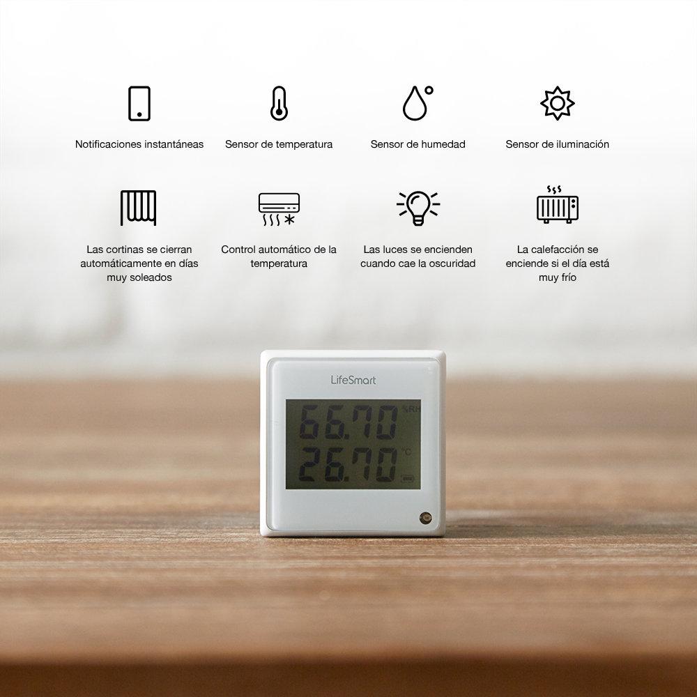 - Sensor meteorológica LifeSmart 4