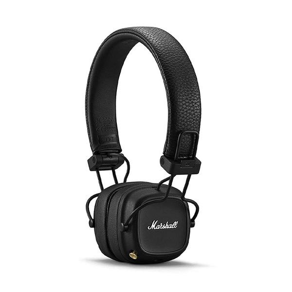 - Audífonos On-Ear Bluetooth Marshall Major IV Negro (NUEVO LANZAMIENTO) 1