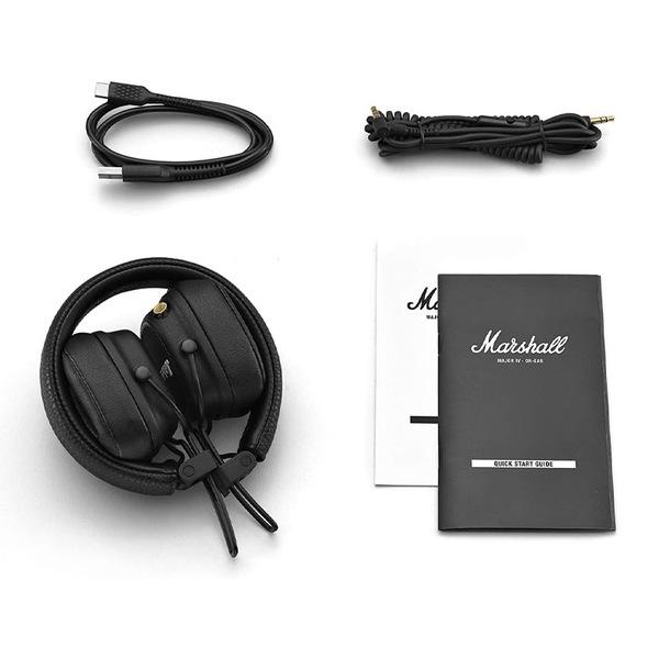 - Audífonos On-Ear Bluetooth Marshall Major IV Negro (NUEVO LANZAMIENTO) 5