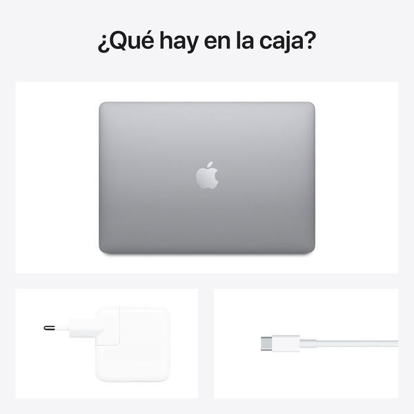 - 13-inch MacBook Air: Apple M1 chip with 8-core CPU and 7-core GPU, 256GB / Gris Espacial 6
