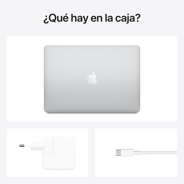 - 13-inch MacBook Air: Apple M1 chip with 8-core CPU and 7-core GPU, 256GB / Plata 6