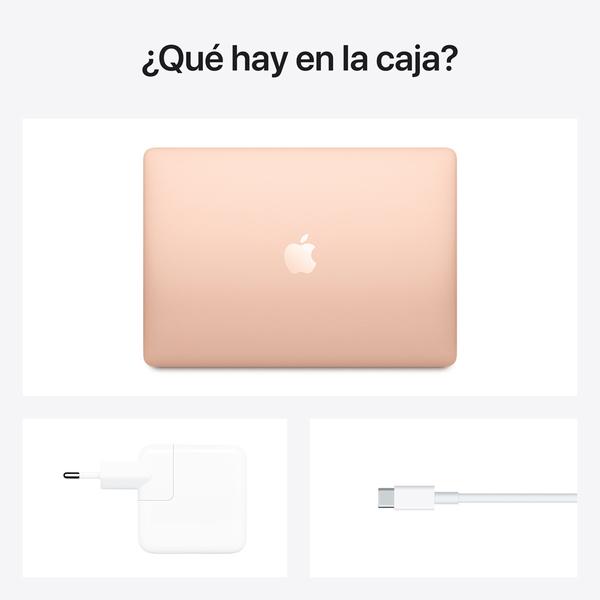 - 13-inch MacBook Air: Apple M1 chip with 8-core CPU and 7-core GPU, 256GB / Oro 6