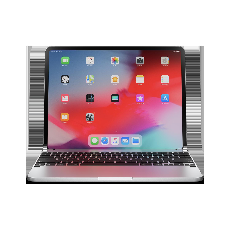 - Teclado aluminio para iPad 10.2 Brydge Silver 2