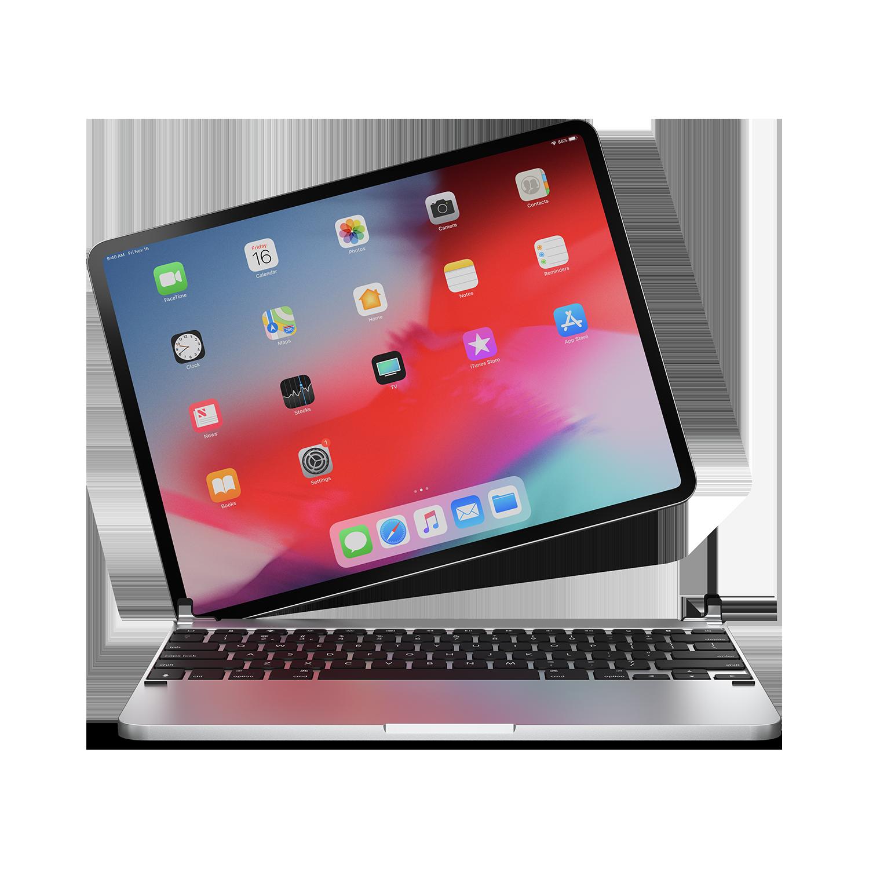 - Teclado aluminio para iPad 10.2 Brydge Silver 1