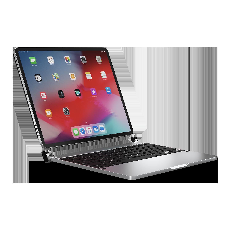 - Teclado aluminio para iPad 10.2 Brydge Silver 3