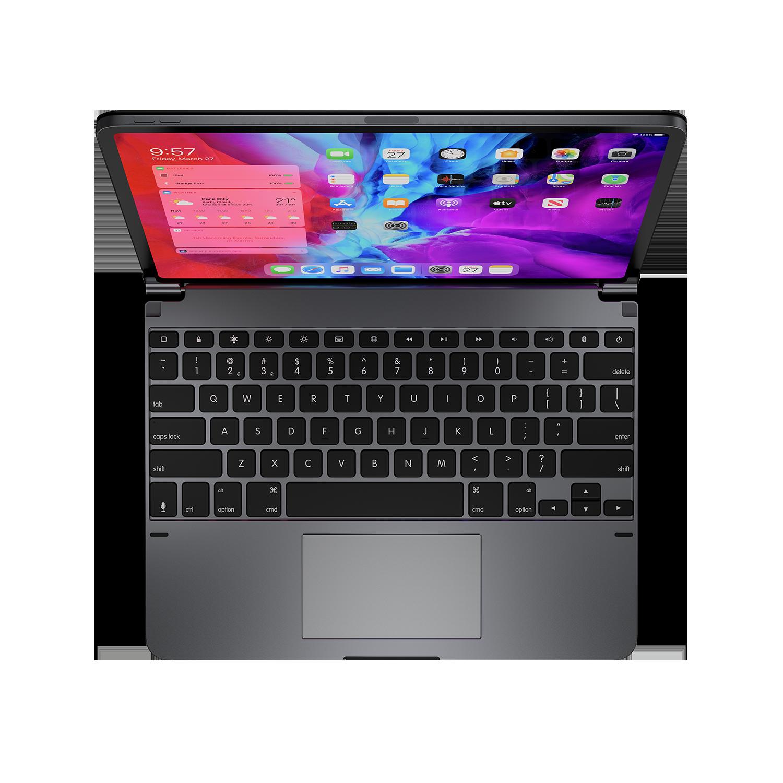 - Teclado aluminio con trackpad para iPad 12.9 3ª y 4ª gen Brydge Space Gray 7