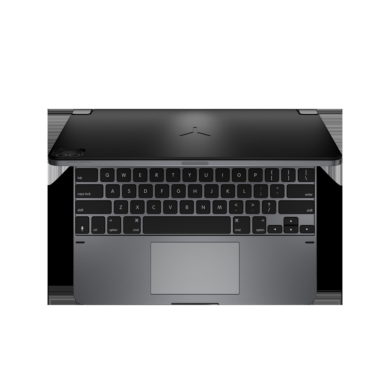 - Teclado aluminio con trackpad para iPad 12.9 3ª y 4ª gen Brydge Space Gray 6