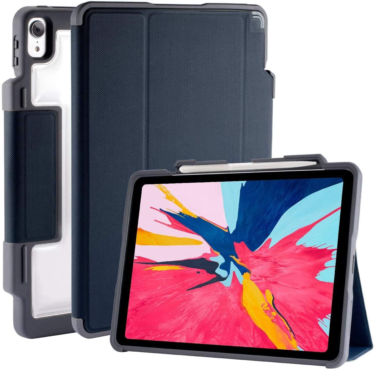 Funda folio atlas para iPad 12.9 STM blue