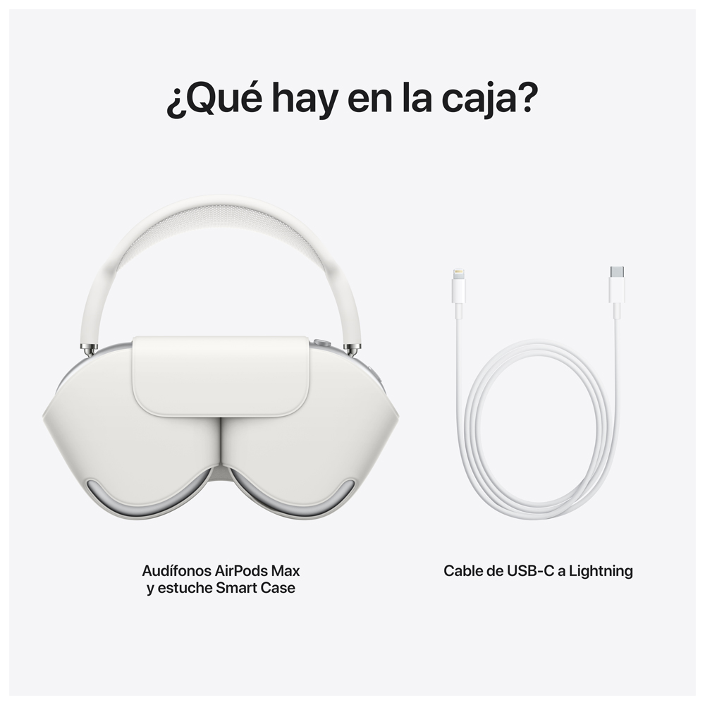 - Audifono Over Ear Wireless AirPods Max / Plata 4