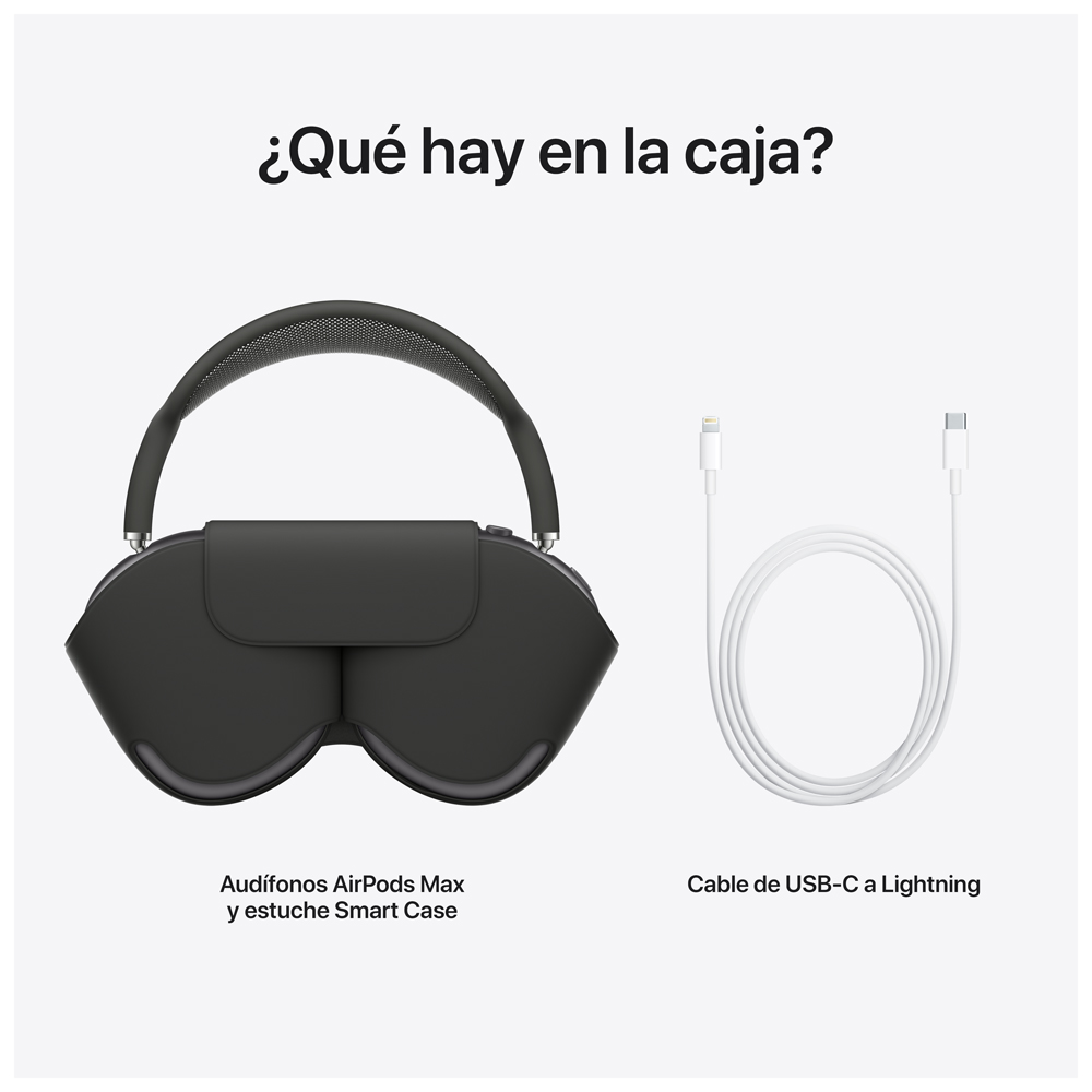 - Audifono Over Ear Wireless AirPods Max / Gris Espacial 4