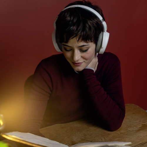 - Audífonos Over Ear HD 450 bluetooth noise cancelling Sennheiser Blanco 5