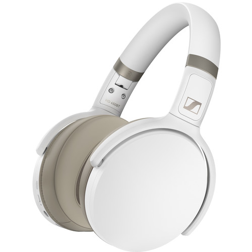 - Audífonos Over Ear HD 450 bluetooth noise cancelling Sennheiser Blanco 1