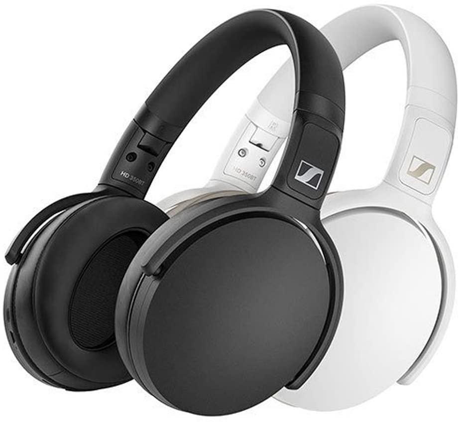 - Audífonos Over Ear HD 350 bluetooth Sennheiser Blanco 2