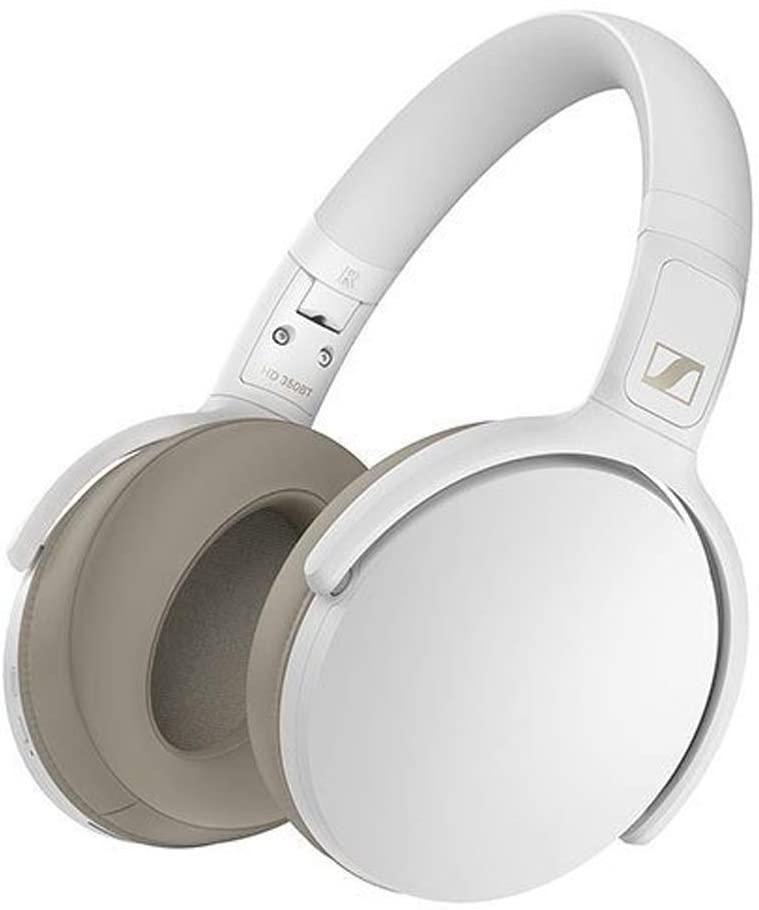 - Audífonos Over Ear HD 350 bluetooth Sennheiser Blanco 6