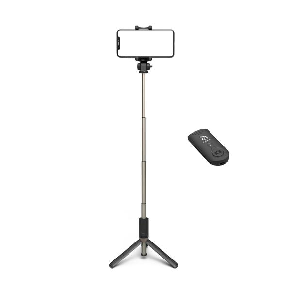 - SELFIE Wireless Bluetooth Tripod Selfie Stick 4