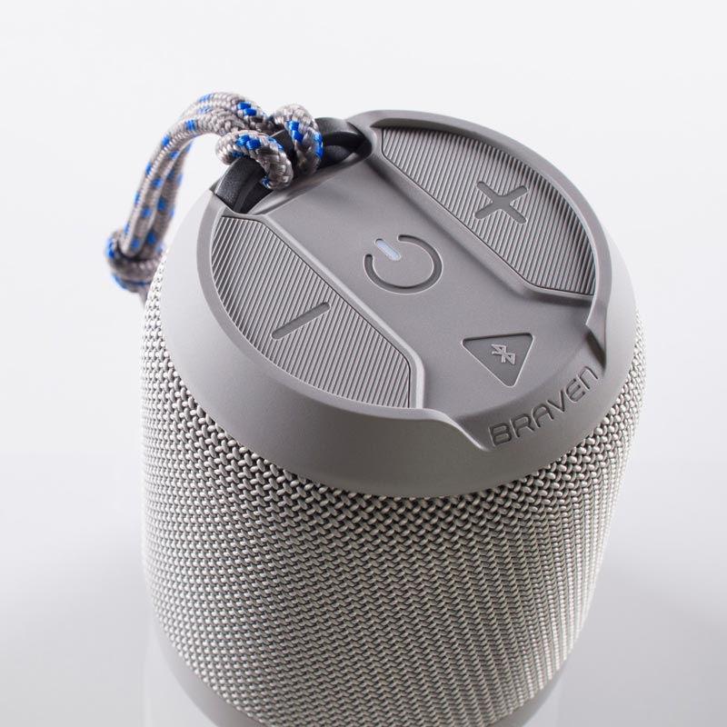 - Parlante portátil Bluetooth Braven BRV-Mini 3