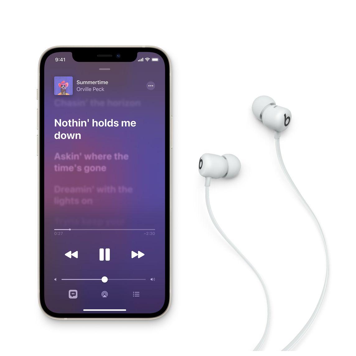 - Audifono In Ear Wireless Flex Beats / Gris 2